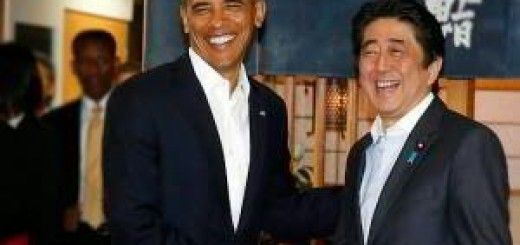 Barack Obama y Shinzo Abe