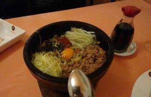 Bibim Bap. Comida coreana.