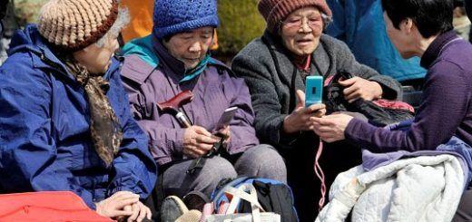 ancianas japonesas