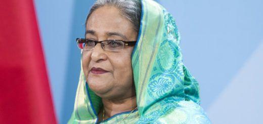 Sheikh Hasina, primera ministra de Bangladesh