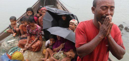 Refugiados de etnia rohingya