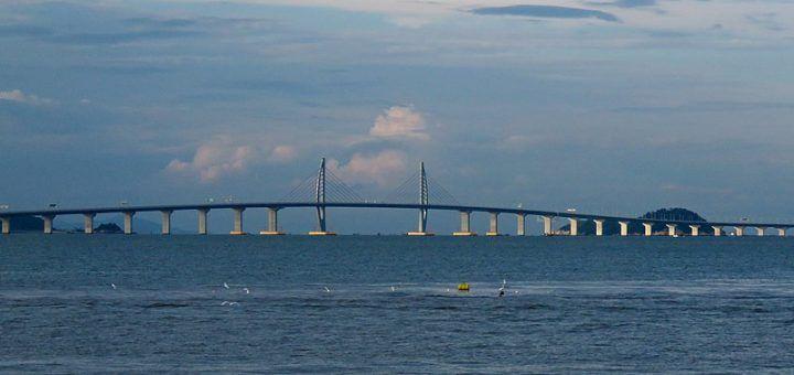 El puente más largo del mundo.